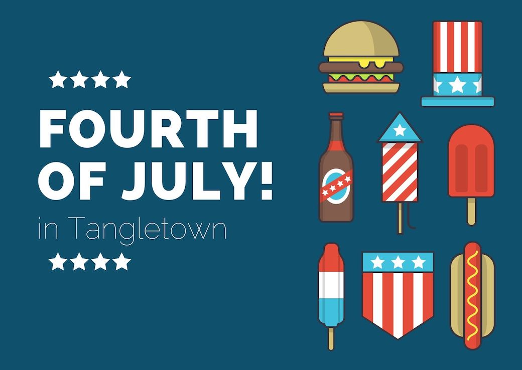 Fourth of July in Tangletown