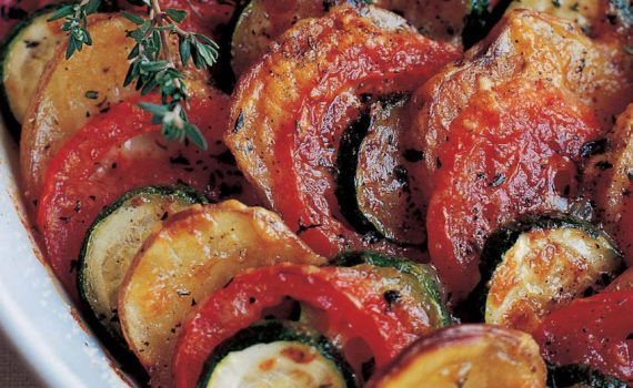 Picture of cooked vegetable dish